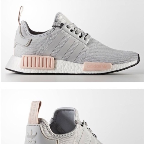 adidas nmd r1 grey and pink
